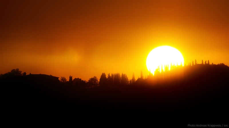 Tuscany Sunrise